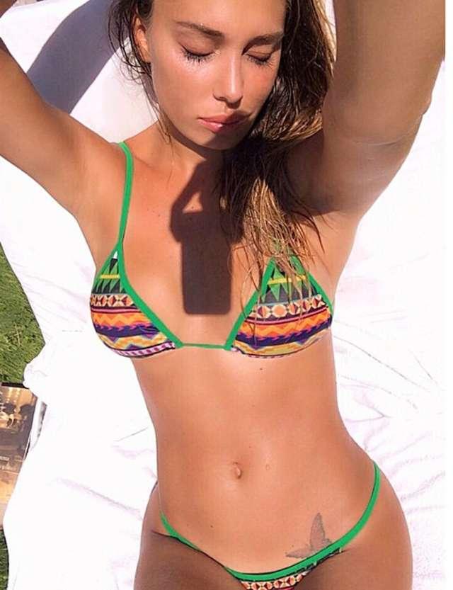 Belen Rodriguez in Bikini - Instagram Pics