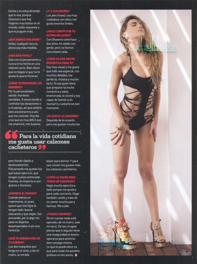 Belinda – H magazine Mexico (December 2014)-01