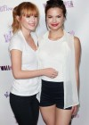 Bella and Kaili Thorne: WallFlower Jeans Girls Night Event -01