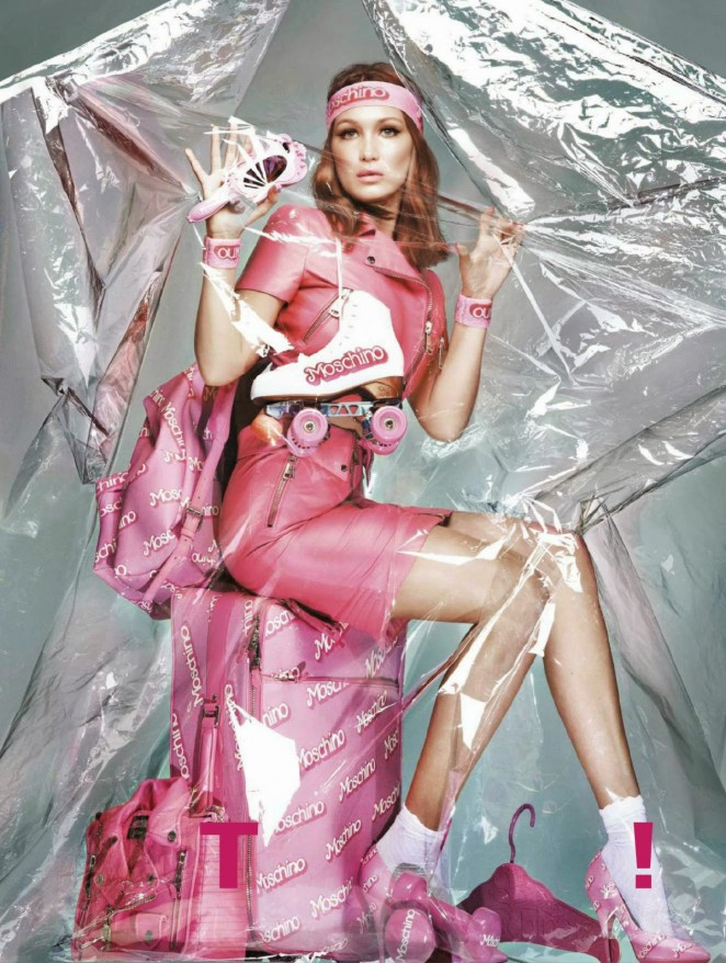 Bella Hadid - Jalouse Magazine (December 2014/January 2015)