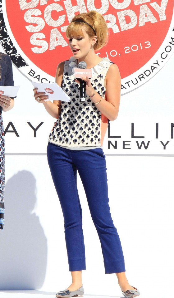 Bella Thorne - 2013 Teen Vogues Back-To-Schoole Event -37