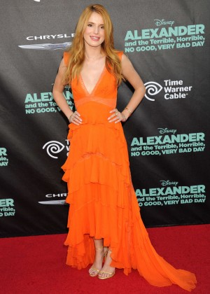 """Bella Thorne - """"Alexander And The Terrible, Horrible, No Good, Very Bad Day"""" Premiere in Hollywood"""