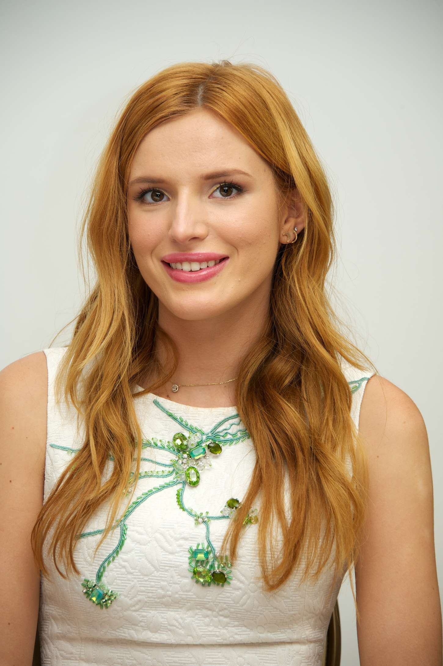 Bella Thorne - 'Alexander and the Terrible Horrible No Good Very Bad Day' Press Conference in Beverly Hills