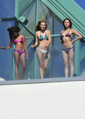 Bella Thorne Bikini Photos: 2014 in Malibu -16