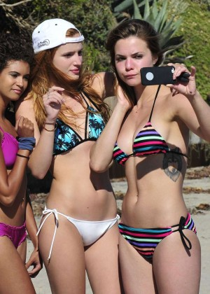Bella Thorne Bikini Photos: 2014 in Malibu -20