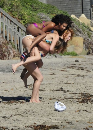 Bella Thorne Bikini Photos: 2014 in Malibu -25