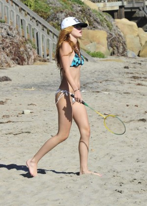 Bella Thorne Bikini Photos: 2014 in Malibu -48