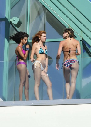 Bella Thorne Bikini Photos: 2014 in Malibu -56