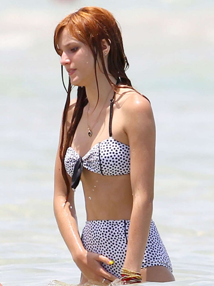 Bella Thorne Bikini Photos: Miami 2014 -04
