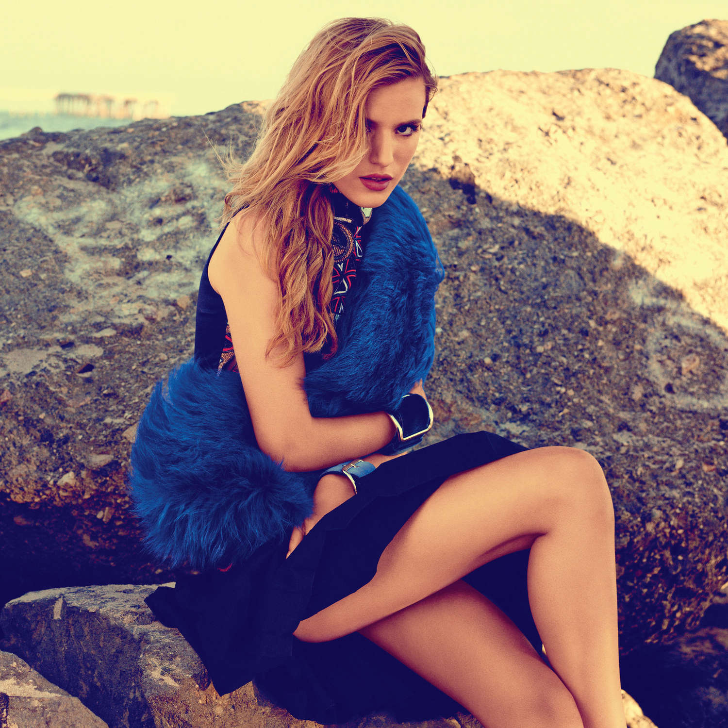 Bella Thorne By Eric Ray Davidson Photoshoot For Instyle