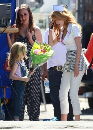 Bella Thorne: Filming her new music video -09