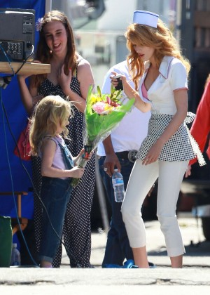 Bella Thorne: Filming her new music video -15