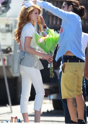 Bella Thorne: Filming her new music video -19