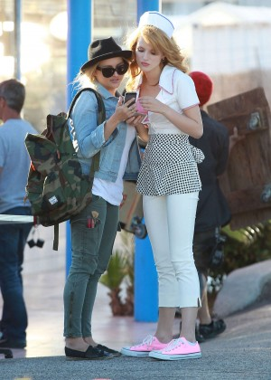 Bella Thorne: Filming her new music video -21