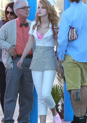 Bella Thorne: Filming her new music video -23