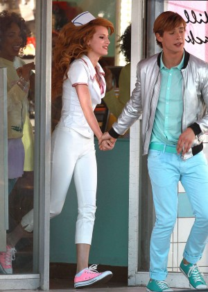 Bella Thorne: Filming her new music video -27