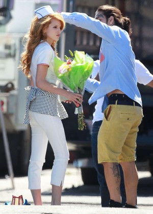 Bella Thorne: Filming her new music video -28