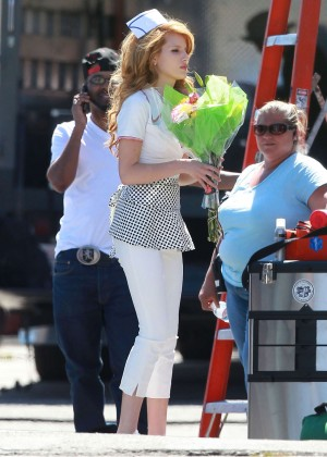 Bella Thorne: Filming her new music video -33