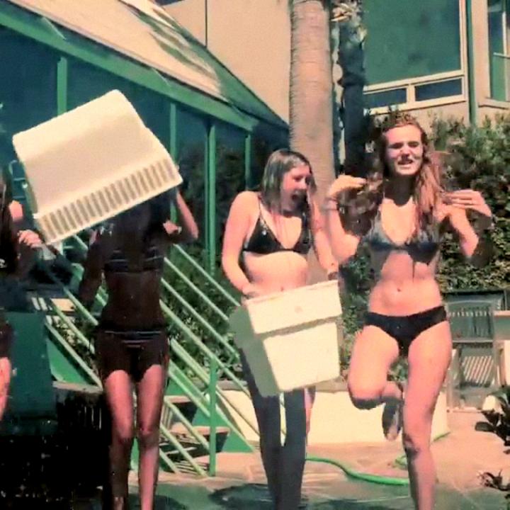 Bella Thorne in a Bikini – Ice Bucket Challenge -01