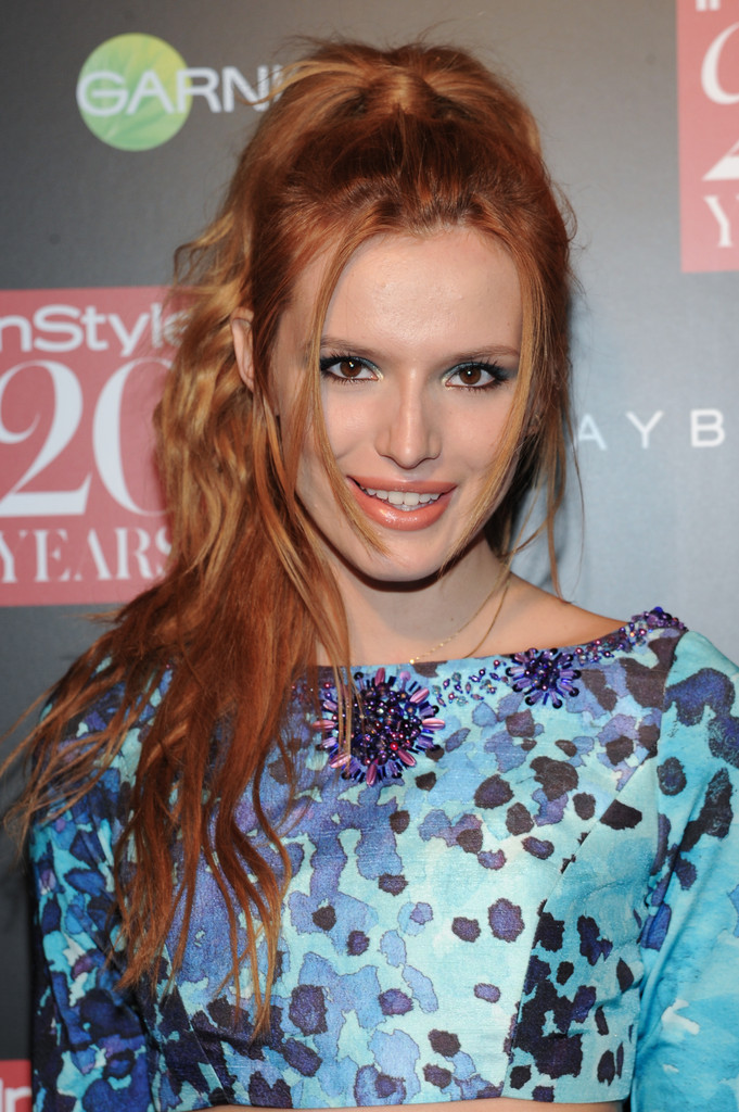 Bella Thorne - Instyle Hosts 20th Anniversary Party in NYC