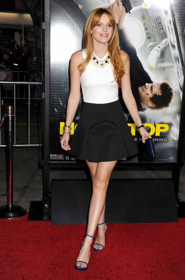 "Bella Thorne – ""Non-Stop"" Premire in Los Angeles"