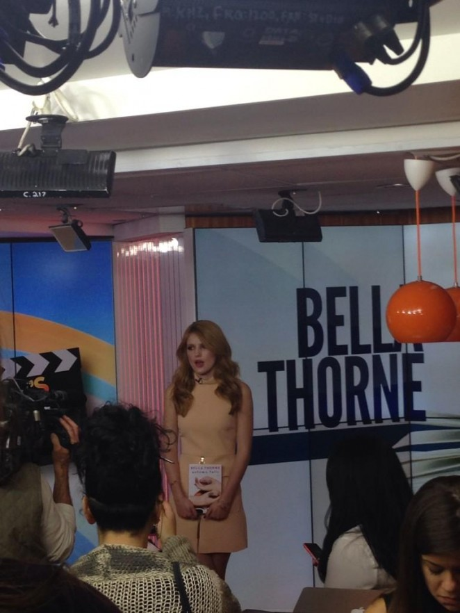 Bella Thorne on The Today Show -05