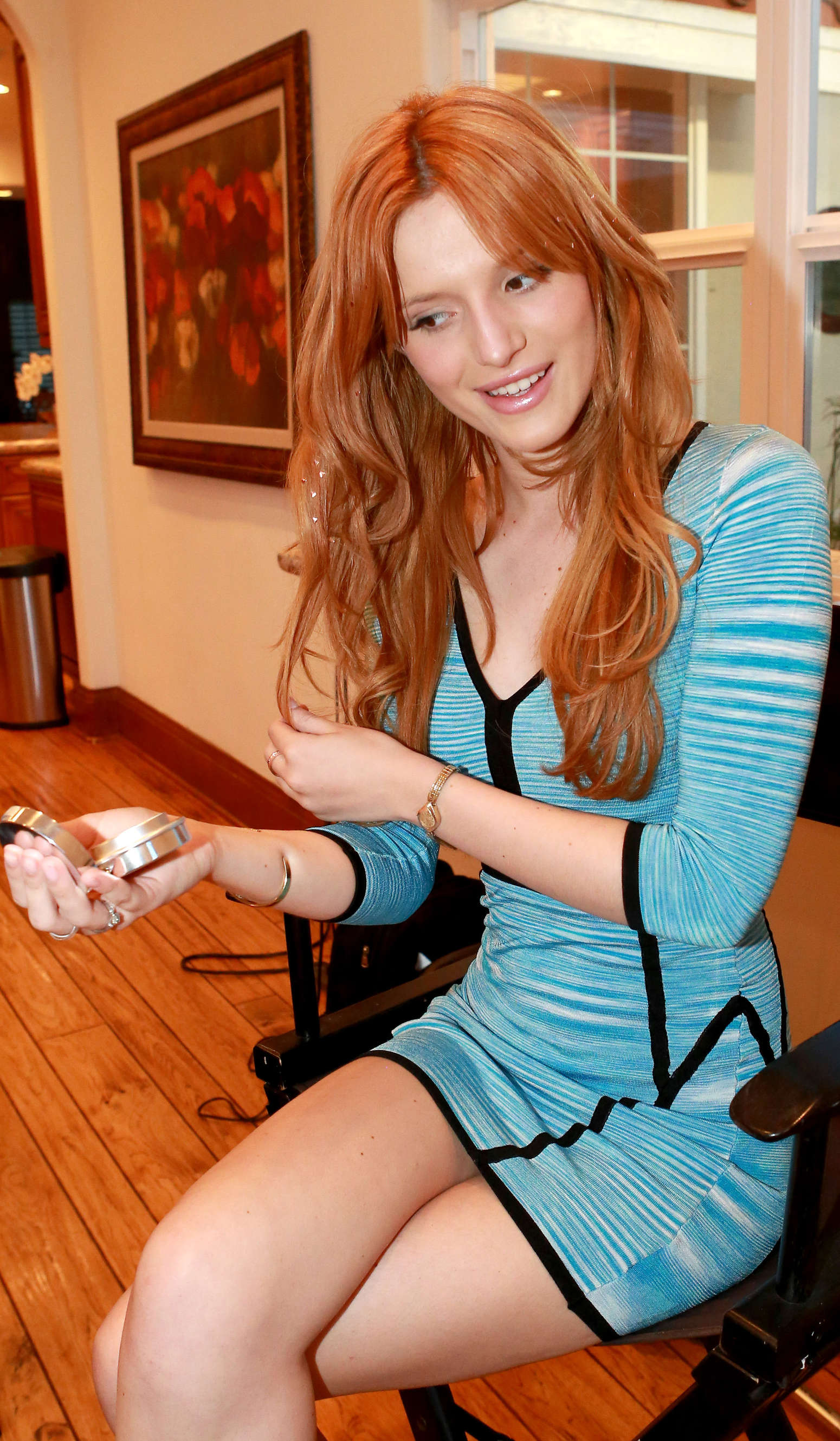 Bella Thorne Photoshoot At Home -14