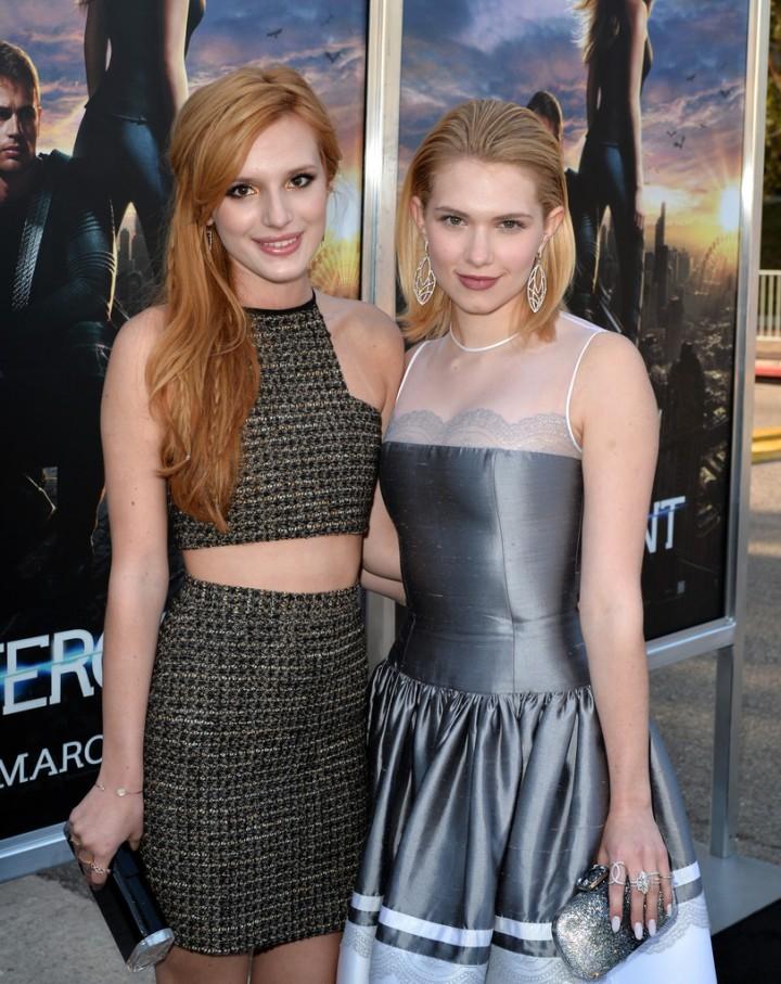 Bella Thorne: Divergent Premiere -04