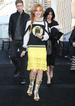 Bella Thorne - Rebecca Minkoff Fashion Show in NYC