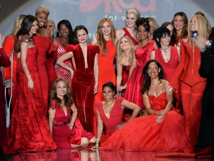 Bella Thorne: 2014 Red Dress Fashion Show -03