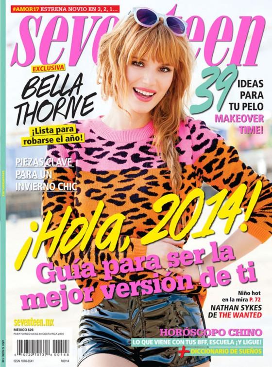 Bella Thorne: Seventeen Magazine -01