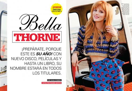 Bella Thorne: Seventeen Magazine -03