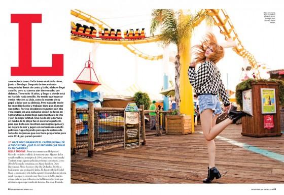 Bella Thorne: Seventeen Magazine -04