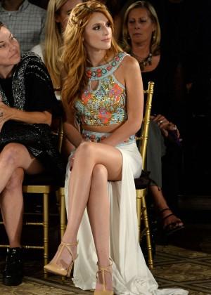 Bella Thorne - Sherri Hill Fashion Show in NYC