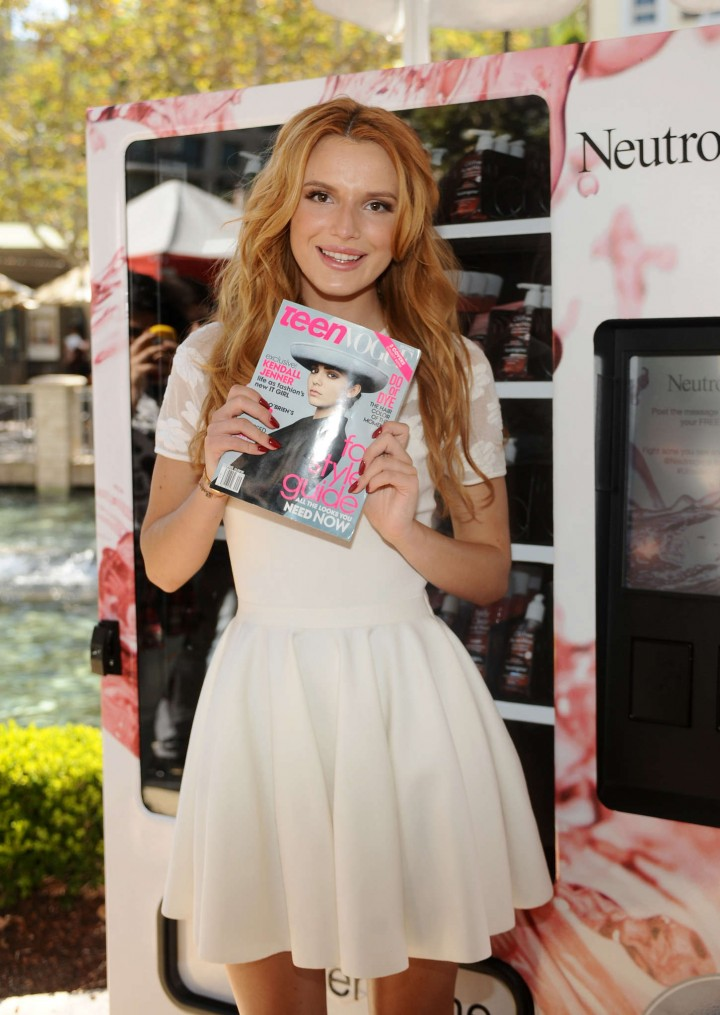 Bella Thorne – Teen Vogue Back To School Saturdays in Glendale