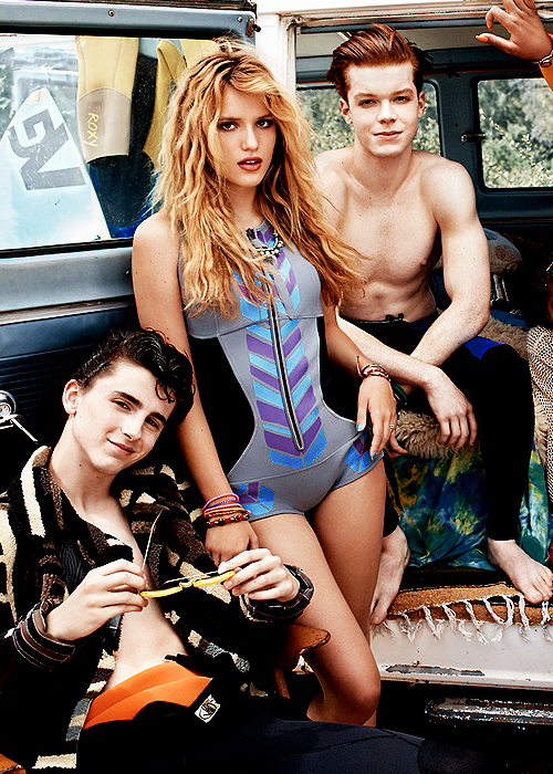 Bella Thorne - Teen Vogue Magazine (September 2014)