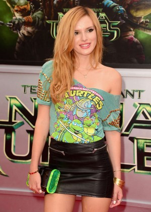 "Bella Thorne - ""Teenage Mutant Ninja Turtles"" premiere in Westwood"