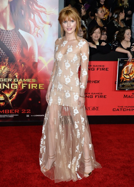 Bella Thorne - The Hunger Games: Catching Fire Hollywood Premiere -03