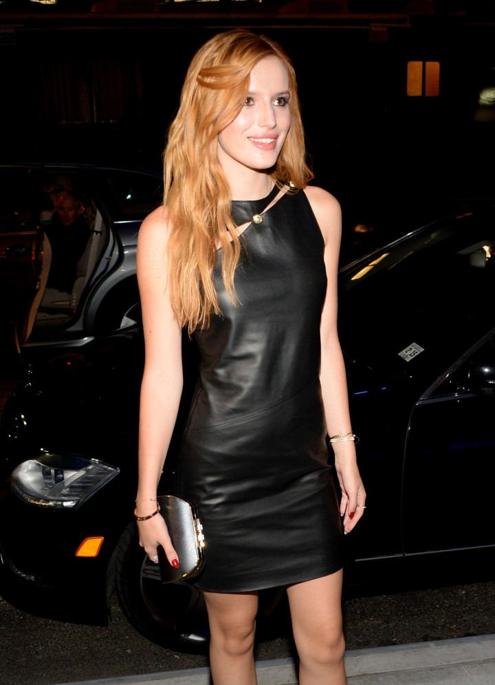 Bella Thorne - Versus Versace Srping 2015 Fashion Show in NYC