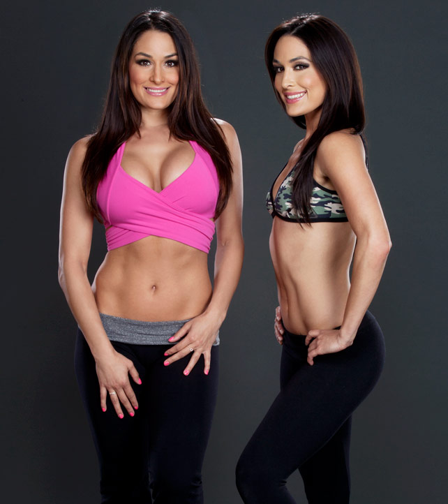 Bella Twins 2013 : Bella Twins – 2013 Lets Get Physical Photoshoot -04