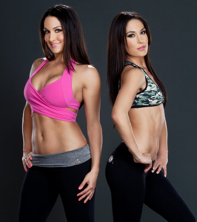 Bella Twins 2013 : Bella Twins – 2013 Lets Get Physical Photoshoot -05