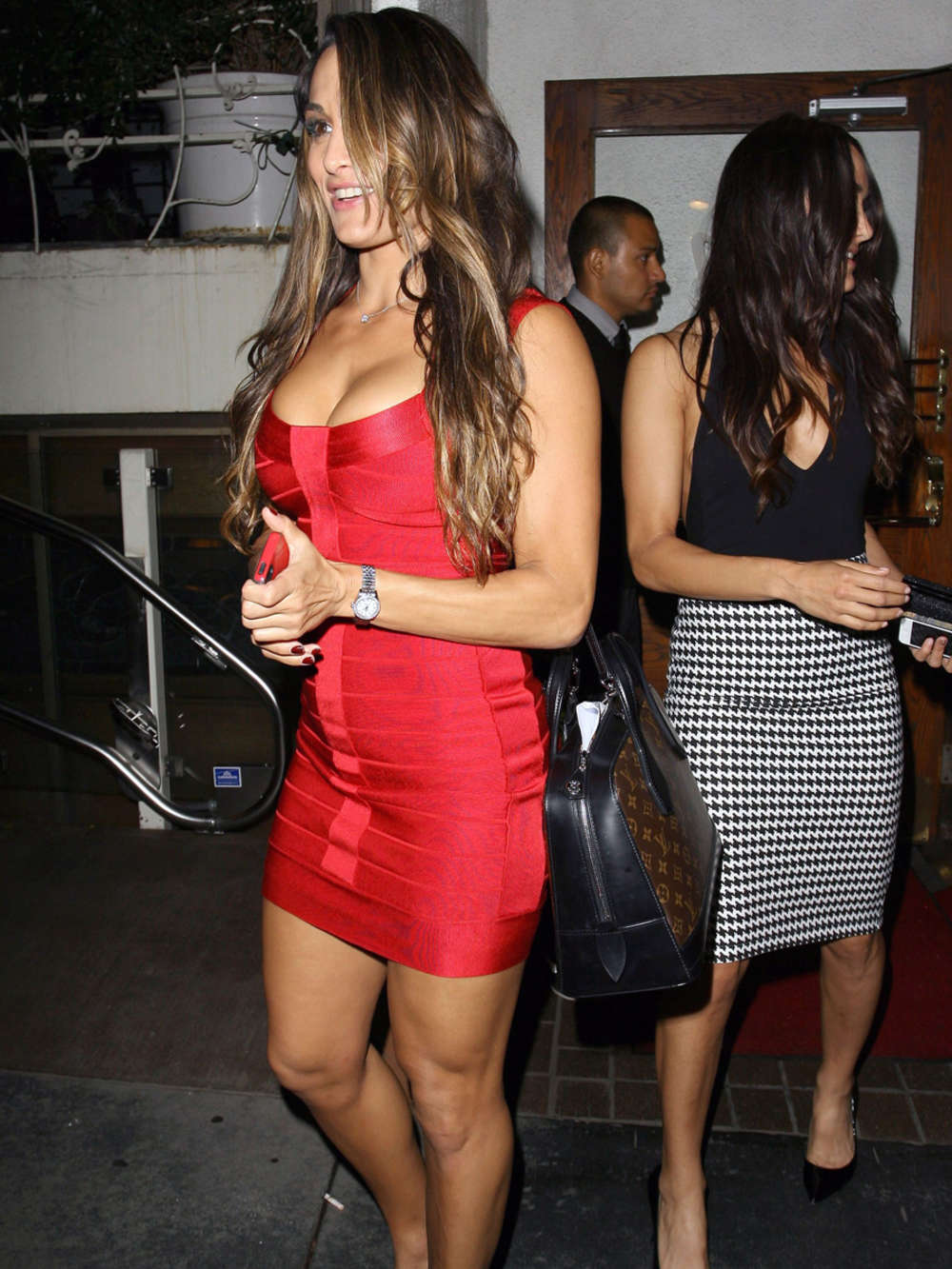 Bella Twins 2014 : Bella Twins at Madeo Restaurant -06