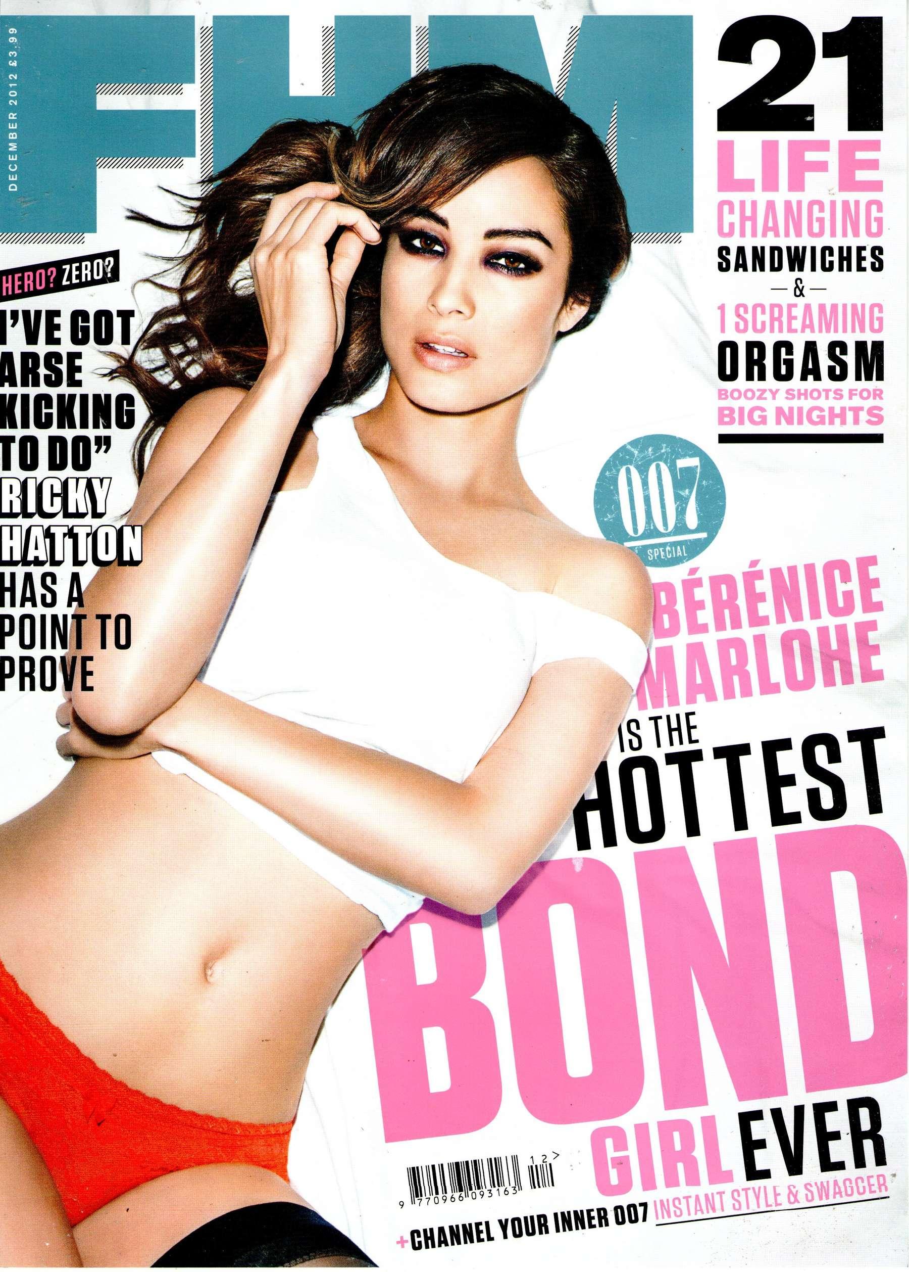 Berenice Marlohe - Hot Bond Girl - FHM Magazine-08 - GotCeleb