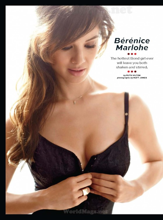 Berenice Marlohe hot for Maxim USA November 2012
