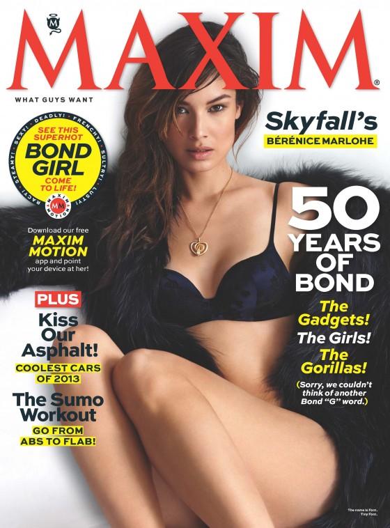 Berenice Marlohe – Maxim USA Magazine (November 2012)