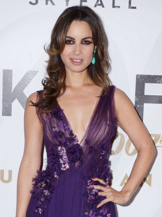 "Berenice Marlohe  at ""Skyfall"" Premiere in Sydney"