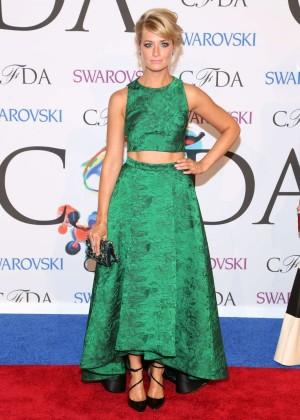 Beth Behrs: 2014 CFDA Fashion Awards -01