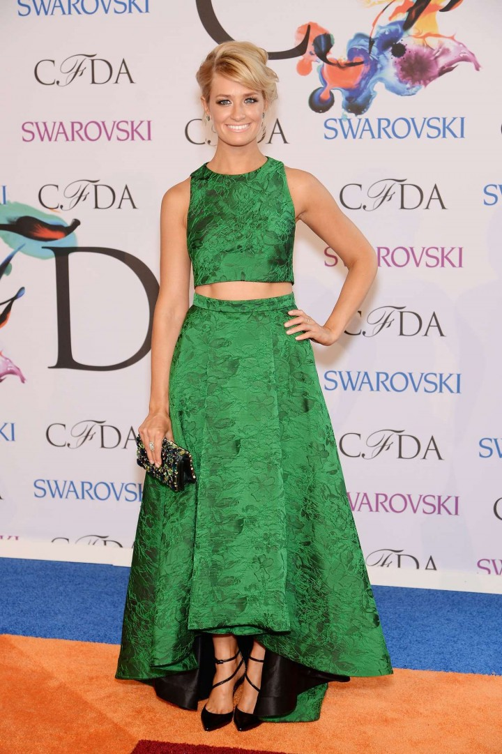 Beth Behrs: 2014 CFDA Fashion Awards -02
