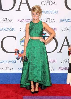 Beth Behrs: 2014 CFDA Fashion Awards -08