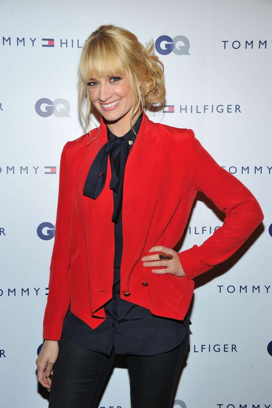 Beth Behrs - Tommy Hilfiger & GQ Men of New York event in NY